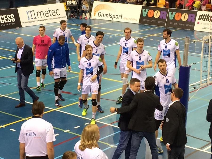 Arjan Taaij, Lycurgus, volleybal