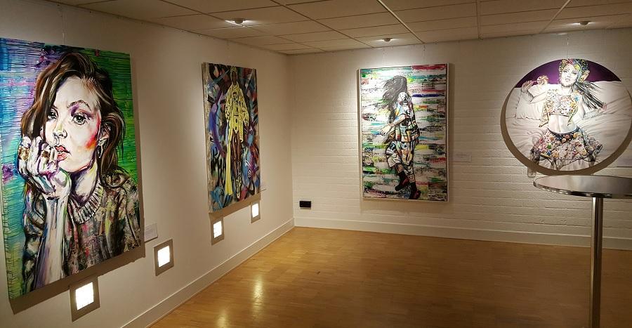 Maudy Alferink, expositie, De vrouw in al haar texturen