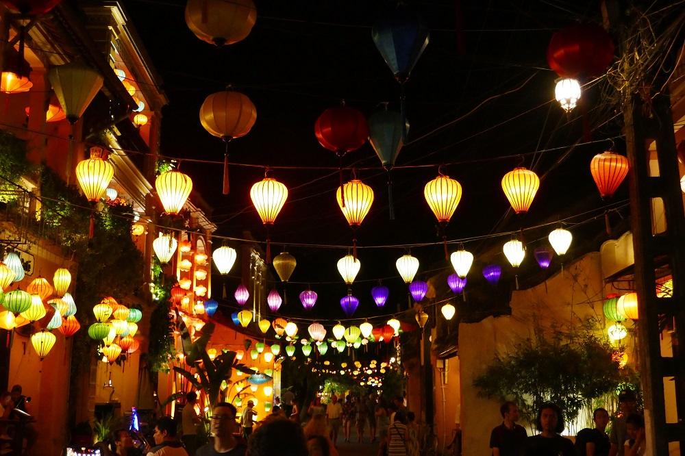 Hoi An, Vietnam, lampionnen
